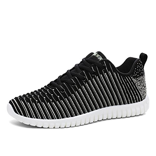 Mens Flyknit Sneakers De Formation - Hiver Earsoon Facilement Bleathable Point