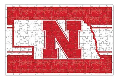 WinCraft NCAA University Nebraska Cornhuskers Square Jigsaw Puzzle 150-Piece
