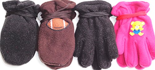 set-of-four-pairs-fleece-mittens-and-gloves-for-infants-ages-6-month-to-2-years