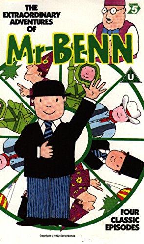 The Extraordinary Adventures of Mr Benn 4 Classic Episodes Volume 2 [VHS] (Benn Ray)