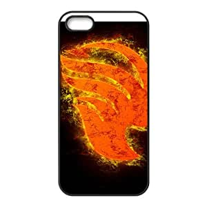 HWGL Burning Fairy Tail Cell Phone Case for Iphone 5s