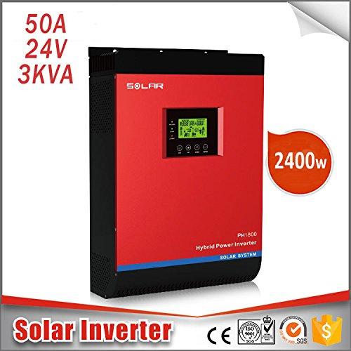 Hybrides Investor Onda reine Inverter Solar 3KVA 24V 50AMP Regler + Ladegerät + Konverter 3in 1