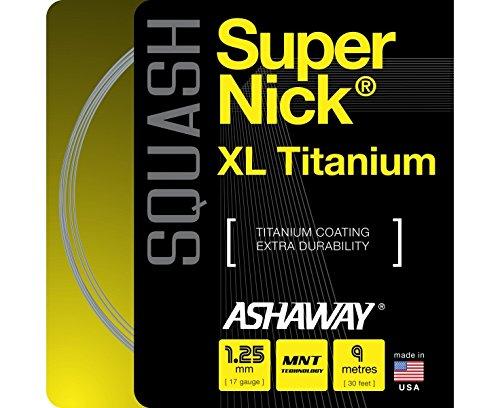 ASHAWAY Super Nick XL TI Set Squash String