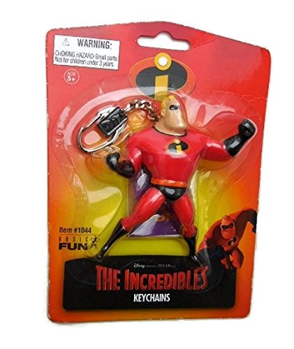 Disney Pixar The Incredibles Figural Keychain Mr. Incredible ()