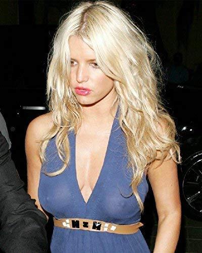 Jessica Simpson 8x10 11x14 Photo No white or black borders No Image is Cropped What you see is what you get. Clock