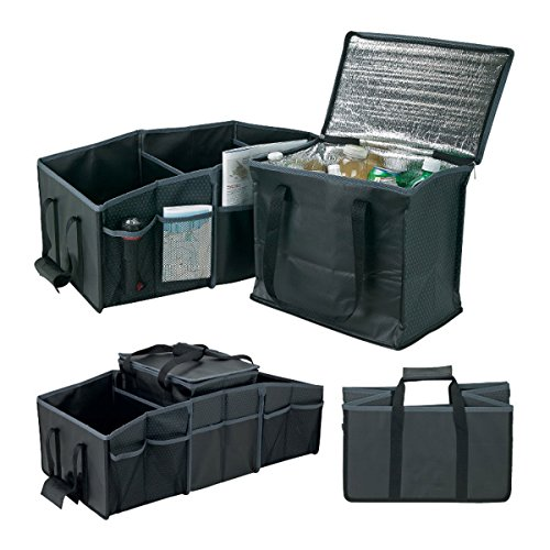 Bravo Enterprise Trunk organizer with removable insulated cooler .Roomy size (28