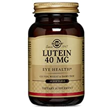 Solgar Lutein 40 mg, 30 Softgels