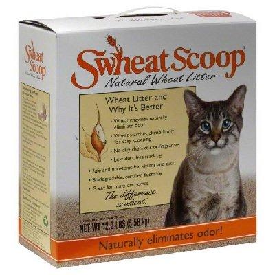 Swheat Scoop Cat Litter 4x 12.3LB