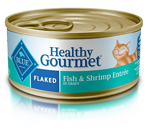 Blue Buffalo Healthy Gourmet Flaked Fish & Shrimp Adult Cann