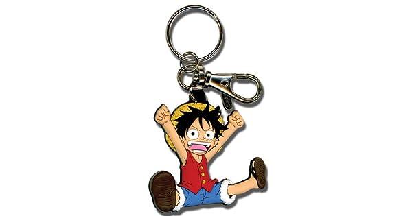Amazon.com: Gran entretenimiento oriental One Piece Luffy SD ...