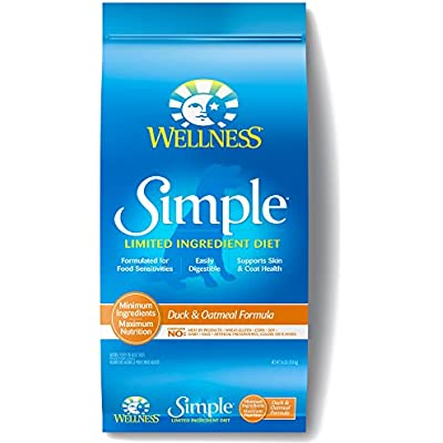 Wellness Simple Natural Limited Ingredient Dry Dog Food Duck & Oatmeal