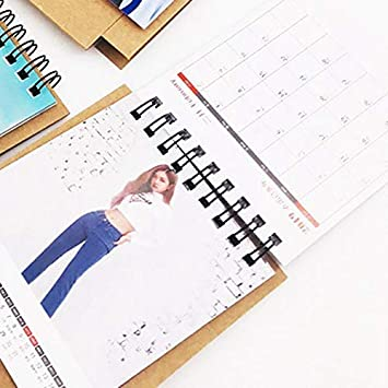Amazon.com : K-pop BLACKPINK 2019 Mini Desktop Calendar ...