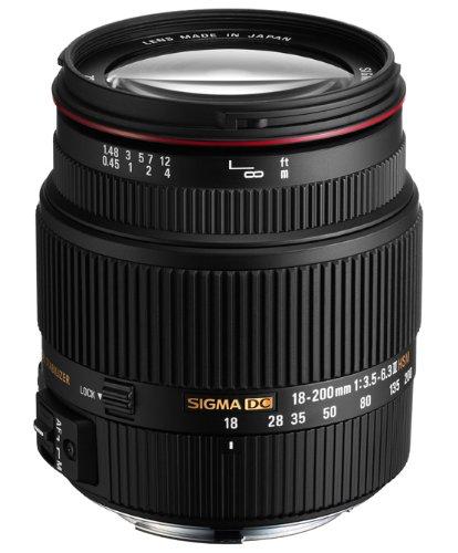 SIGMA 高倍率ズームレンズ 18-200mm F3.5-6.3IIDC HSM ペンタックス用 APS-C専用   B005SC9FYW