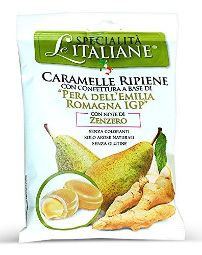 (Serra, Filled Candy w/ Emilia Romagna Pear - Ripiene Pera Emilia Romagna IGP 100g bag (10 pcs))