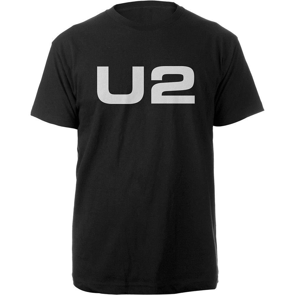 U2 T-Shirt White Logo