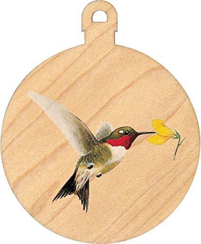 (Maple Ball Ornament -Hummingbird - Made in USA)