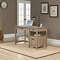 Harbor View Lift-top Desk, Salt Oak Finish