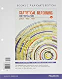 Statistical Reasoning for Everyday Life, Books a la Carte Edition Plus MyStatLab with Pearson Etext, Bennett, Jeff and Briggs, William L., 0321869443
