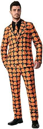 Forum Novelties Pumpkin Dress Suit and Tie Adult Costume Large