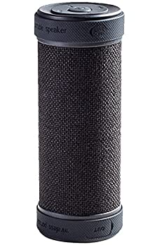 GGSDY Portable Wireless Bluetooth Speaker with PowerBank, 360° and 3D Stereo Surround Sound, Up to 18 Hours Playback Time, Waterproof,Shockproof and Dustproof, Suitable for Indoors Outdoors (Black)