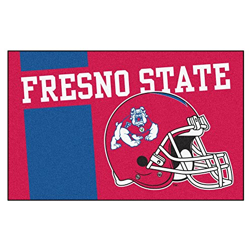 Fanmats 19731 Fresno State Uniform Starter Rug, Team Color, 19