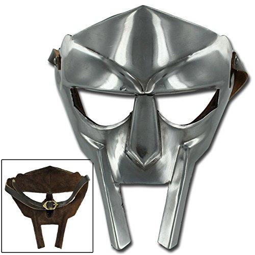 Mf Doom Mask Costume (MF Doom Rapper Madvillain Gladiator Mask)