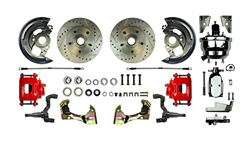 AFXDC02CZX The Right Stuff Dual Booster; Red Show N Go; Chrome; Power Disc Conversion