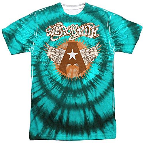 hombre Blanco Aerosmith Camiseta Opaque manga para de corta ZT0ZXq