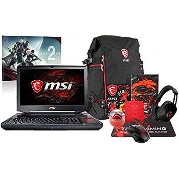 "MSI GT83VR TITAN SLI-212 Pro Extreme (i7-7920HQ, 64GB RAM, 4TB NVMe SSD + 1TB HDD, NVIDIA GTX 1080 SLI 16GB, 18.4"" Full HD, Windows 10) VR Ready Gaming Notebook"