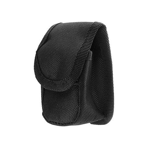 Kloud City Black Nylon Carrying Case with Belt Loop for Fingertip Pulse Oximeter