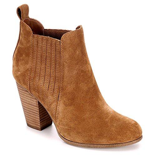 Michael Di Michael Shannon Donna Austin Chelsea Bootie Shoes Tan