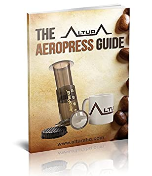 Amazon.com: The DISC: Premium Filter for AeroPress Coffee Makers by ALTURA + eBOOK with Recipes, Tips, and More - Stainless Steel, Washable & Reusable.