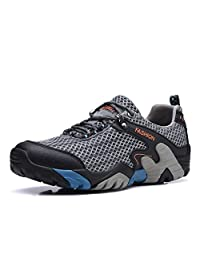 Hiking Shoes Men Waterproof Lightweight Mesh Camping Walking Trail Sneaker for Climbing Travel Athletic Running Sport Water Shoes