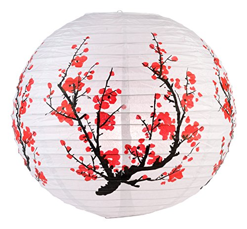 WGI-16-Japanese-Plum-Tree-Paper-Lantern-Set-of-2