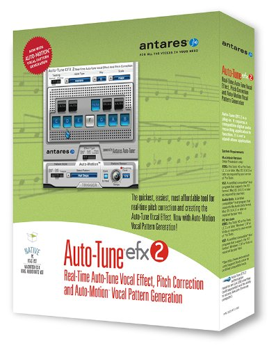 Antares Audio Auto-Tune Efx 2 Audio Plug-in (Pitch Shifting Plug)