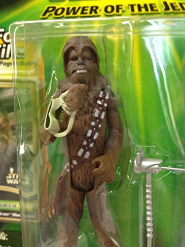 Qiyun Star Wars Power of The Jedi Chewbacca Series 1 2000 Action Figures Force Files 076930845776