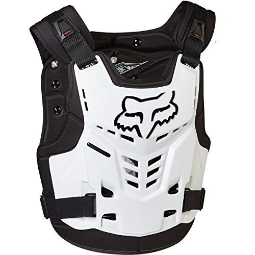 (Fox Racing Proframe LC Roost Deflector (S/M, White))