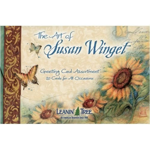 The Art of Susan Winget - 20 cards with full-color interiors and 22 designed envelopes by Leanin' Tree (Leanin Tree Boxed Cards)