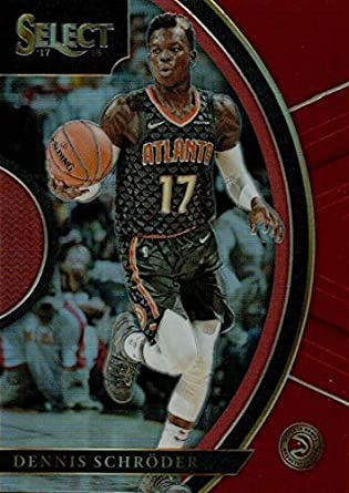 0ed4054a8 2017-18 Select Maroon Prizms  89 Dennis Schroder Concourse 199 Hawks