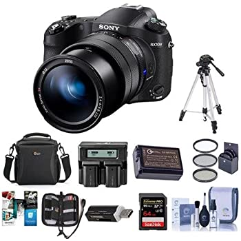 Amazon com : Sony Cyber‑Shot RX10 IV with 0 03 Second Auto-Focus