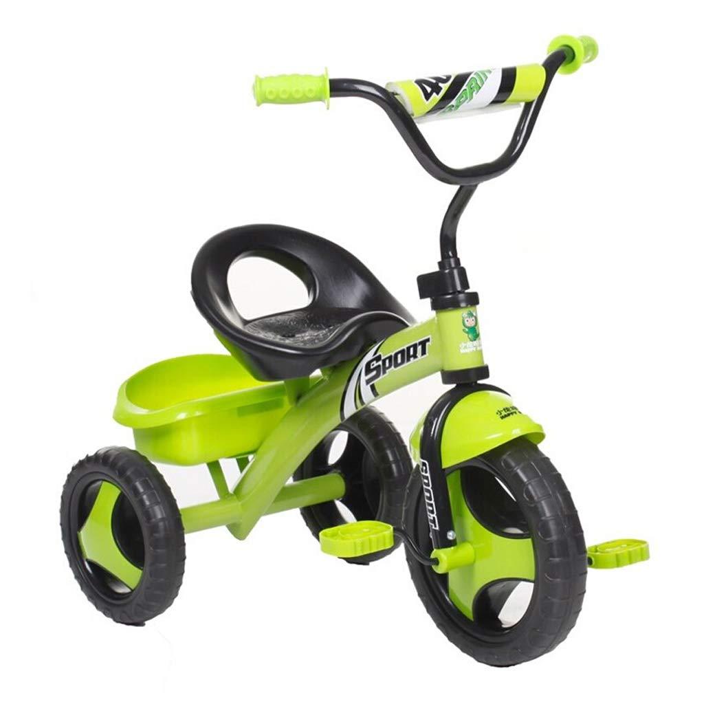 Tu satisfacción es nuestro objetivo Zhijie-chezi Zhijie-chezi Zhijie-chezi Bicicletas para niños, Triciclo para niños Bicicleta para niños de 1 a 3 años de Edad, Cochecito de niños, niños, niñas, Juguetes, automóviles con Ruedas de Colores 730  450  560 mm  artículos novedosos