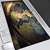 Game of Thrones Mouse Pad,Professional Large Gaming Mouse Cushion,Extended Size Desk Mat Non-Slip Rubber Mouse Mat (58, 900 x 400 x 3 mm / 35.5'' x 15.5'' x 0.12'')
