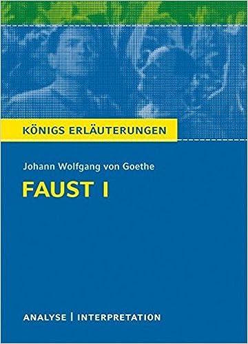 Königs Erläuterungen Textanalyse Und Interpretation Zu Goethe