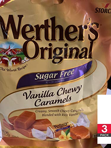 Introducing Werther's Original Vanilla Chewy Caramels Sugar Free