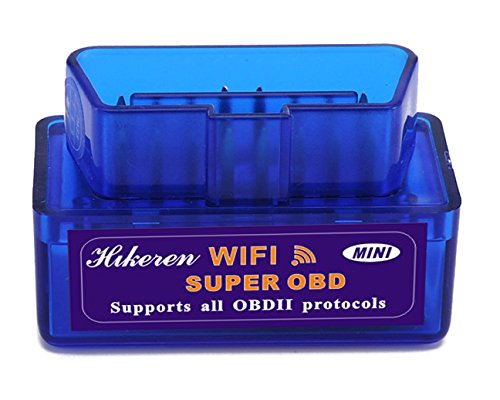 OBDII,Hikeren Mini WiFi Wireless OBD2 OBDII V1.5...