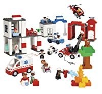 LEGO Education DUPLO Community Services Set 4646269 (130 Pieces) by LEGO Education