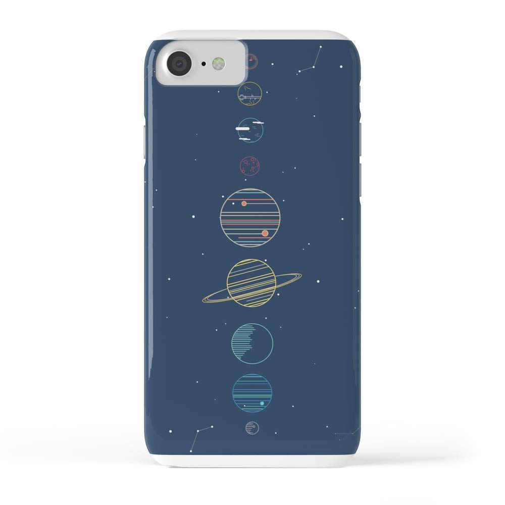 Society6 iPhone 7 Cases, Featuring Solar System by ilusa