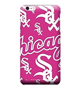 Allan Diy iPhone 6 Plus case cover, MLB - Chicago White Sox Pink Blast - iPhone 6 plW7rHF8Owc Plus case cover - High Quality PC case cover