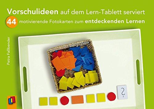 Price comparison product image Vorschulideen auf dem Lern-Tablett serviert: 44 motivierende Fotokarten zum entdeckenden Lernen