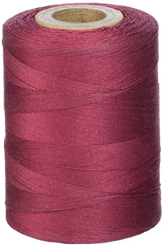 2 Ply Quilting Thread - Star Thread V37-039B 3-Ply 30wt T-35 Cotton Quilting & Craft Thread, 1200 yd, Barberry Red
